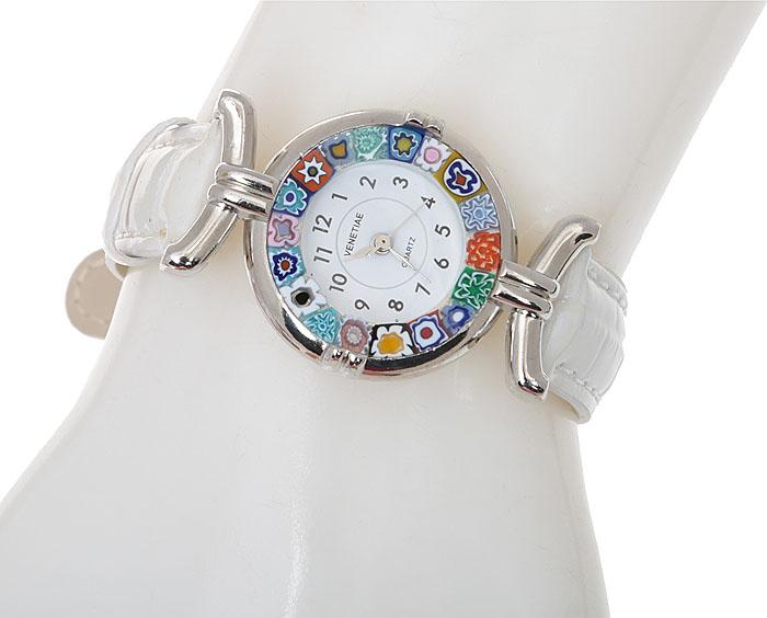 Наручные часы из муранского стекла