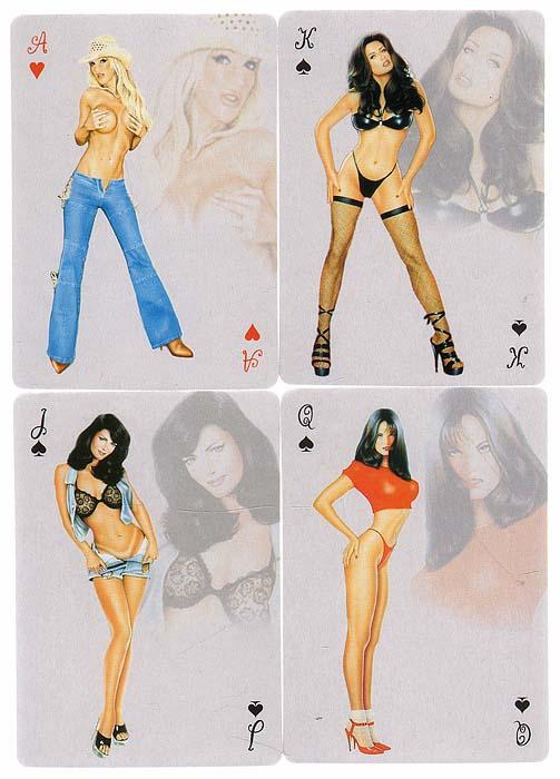 карты игральные карты фото с девушками