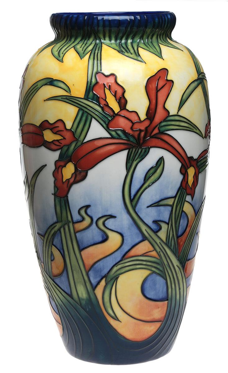 тщательно роспись на вазе рисунок когда переключаетесь